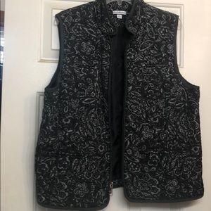 Croft & Barrow XL vest Black/Grey/Purple